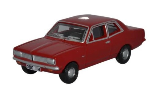 Miniatura Vauxhall Monza Red 1/76 Oxford