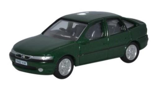 Miniatura Vauxhall Vectra Green 1/76 Oxford