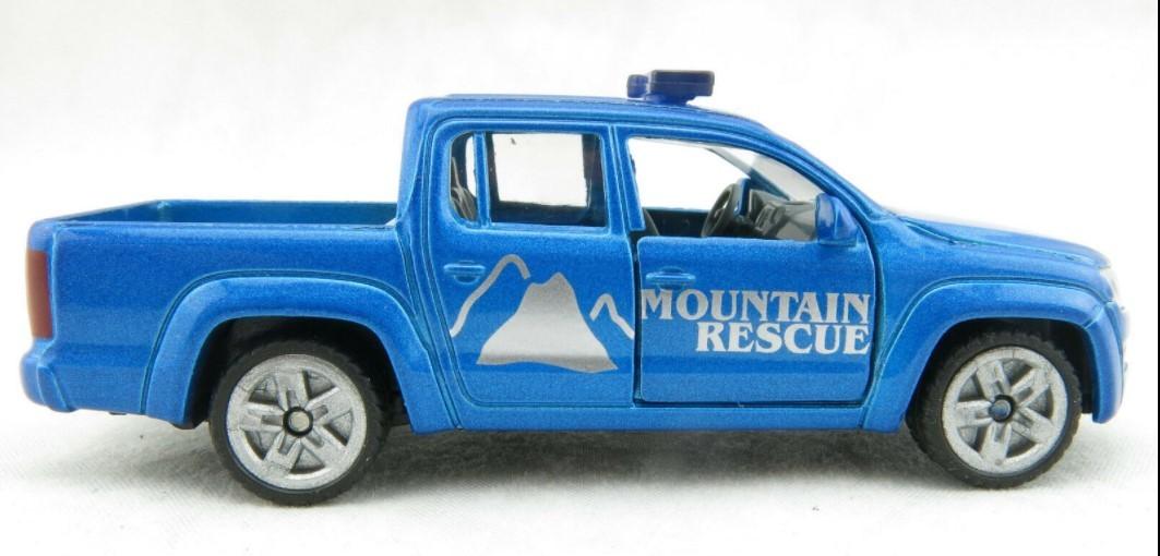 Miniatura Volkswagen Amarok Mountain Rescue 1/64 Siku