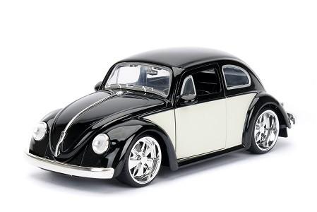 Miniatura Volkswagen Fusca 1959 Preto Big Time 1/24 Jada Toys