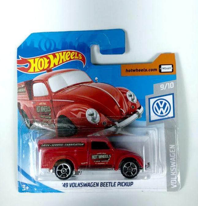 Miniatura Volkswagen Fusca Beetle Pickup '49 1/64 Hot Wheels