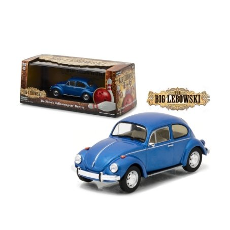 Miniatura Volkswagen Fusca Da Fino's The Big Lebowski 1/43 Greenlight