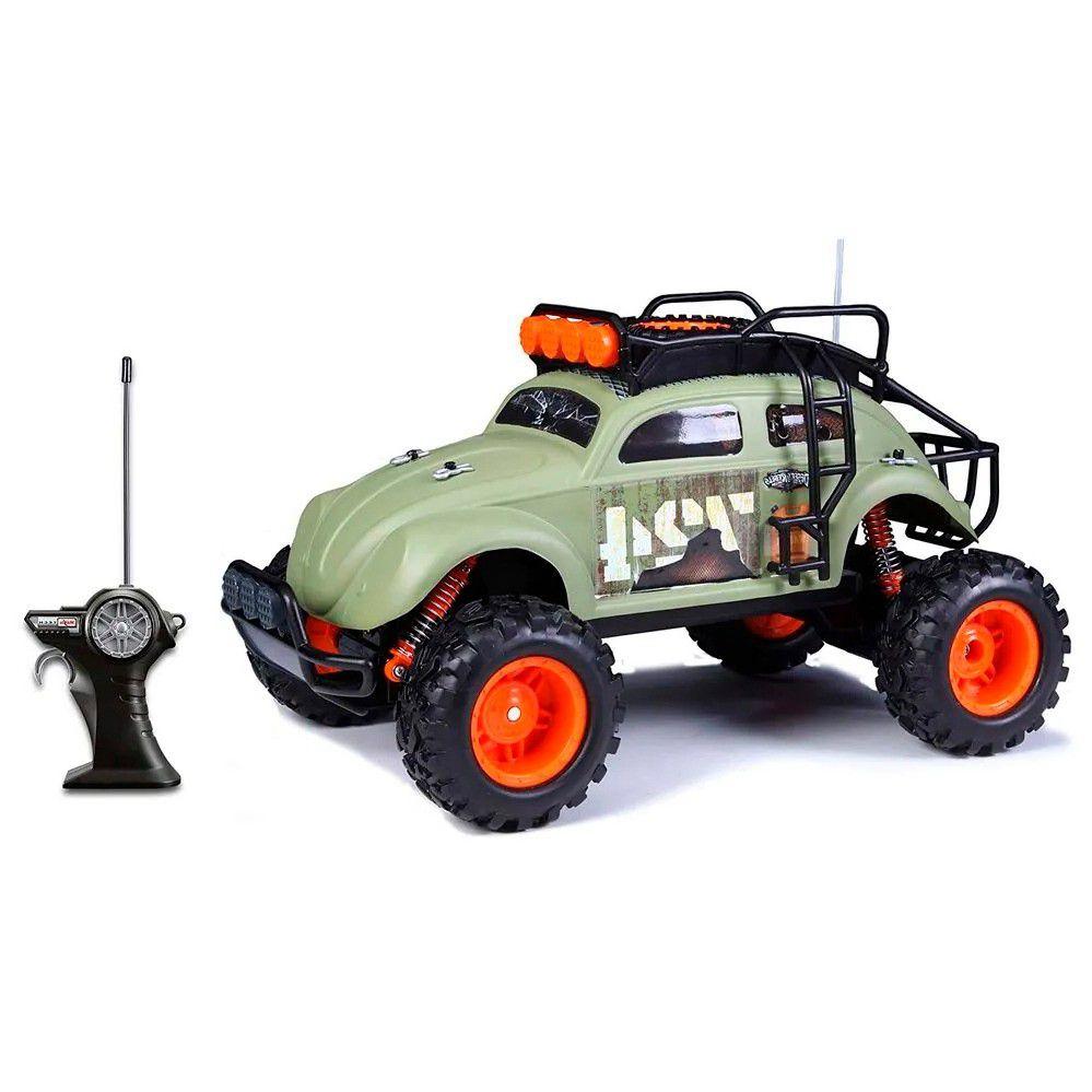 Miniatura Volkswagen Fusca Desert Rebels Radio Controle 1/10 Maisto