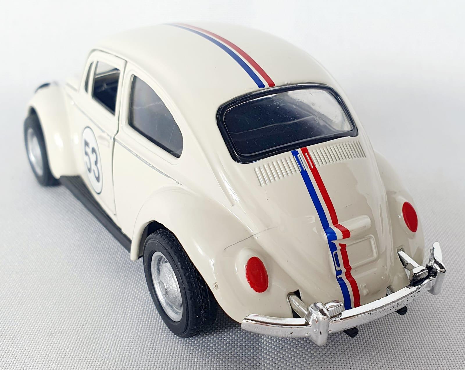 Miniatura Volkswagen Fusca Herbie 53 Sem Caixa 1/32
