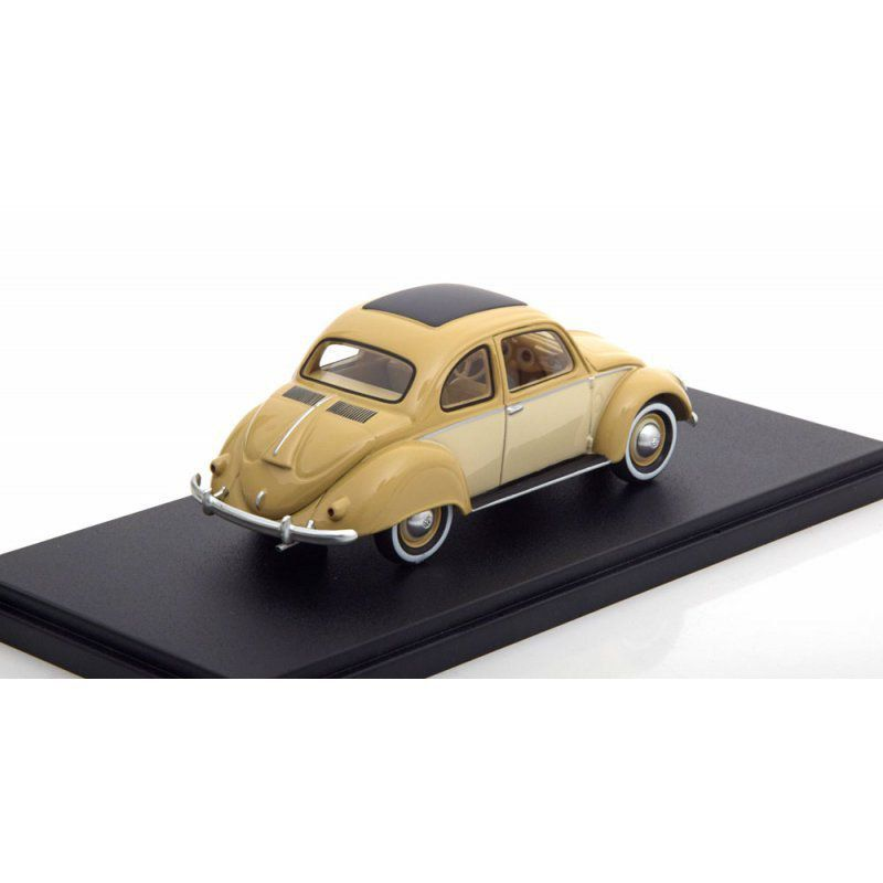 Miniatura Volkswagen Fusca Kafer Stool Coupé 1952 1/43 Neo