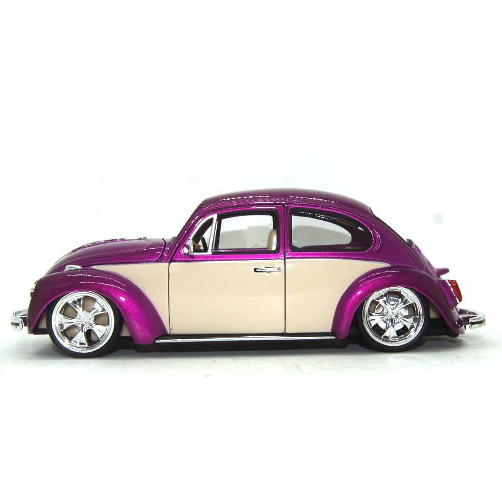 Miniatura Volkswagen Fusca Low Rider Hot Rider 1/24 Welly