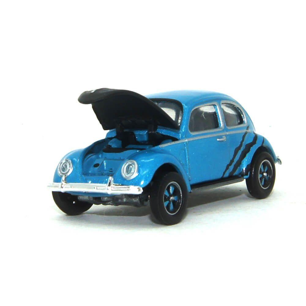 Miniatura Volkswagen Fusca Vidro Dividido 1950 1/64 California Collectibles