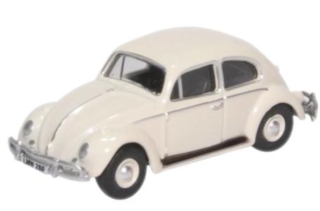 Miniatura Volkswagen Fusca White 1/76 Oxford