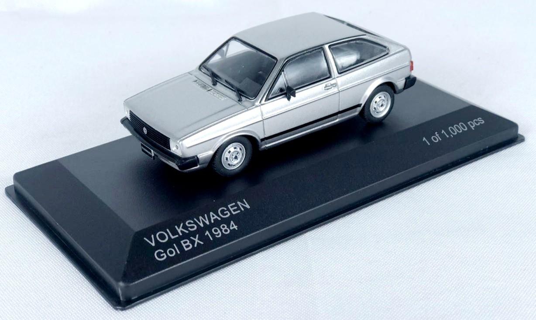 Miniatura Volkswagen Gol BX 1984 1/43 Whitebox