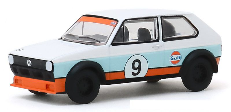 Miniatura Volkswagen Golf 1974 V DUBS  1/64 Greenlight