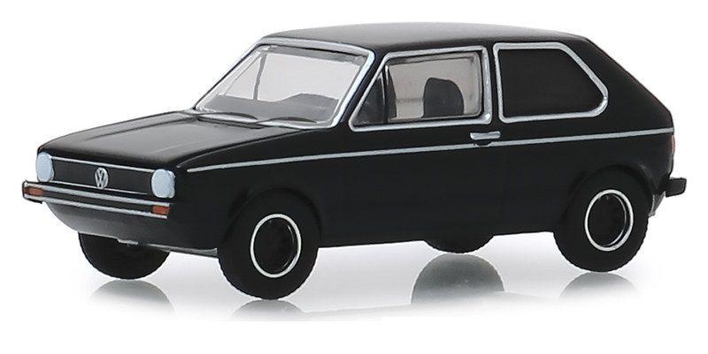 Miniatura Volkswagen Golf MK1 1976 Black Bandit 1/64 Greenlight