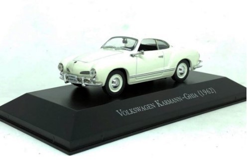 Miniatura Volkswagen Karmann Ghia 1962 1/43 Ixo