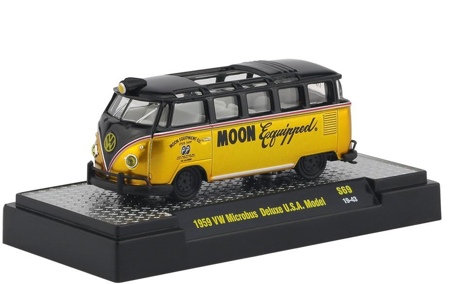 Miniatura Volkswagen Kombi 1959 Mooneyes 1/64 M2