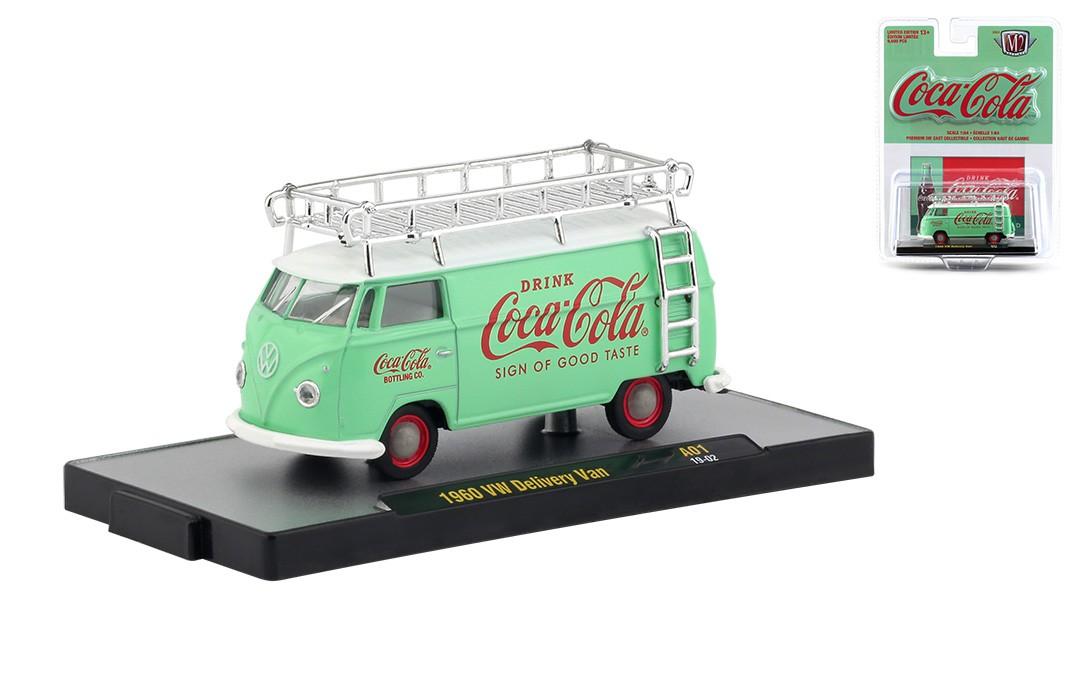 Miniatura Volkswagen Kombi 1960  Coca Cola 1/64 M2