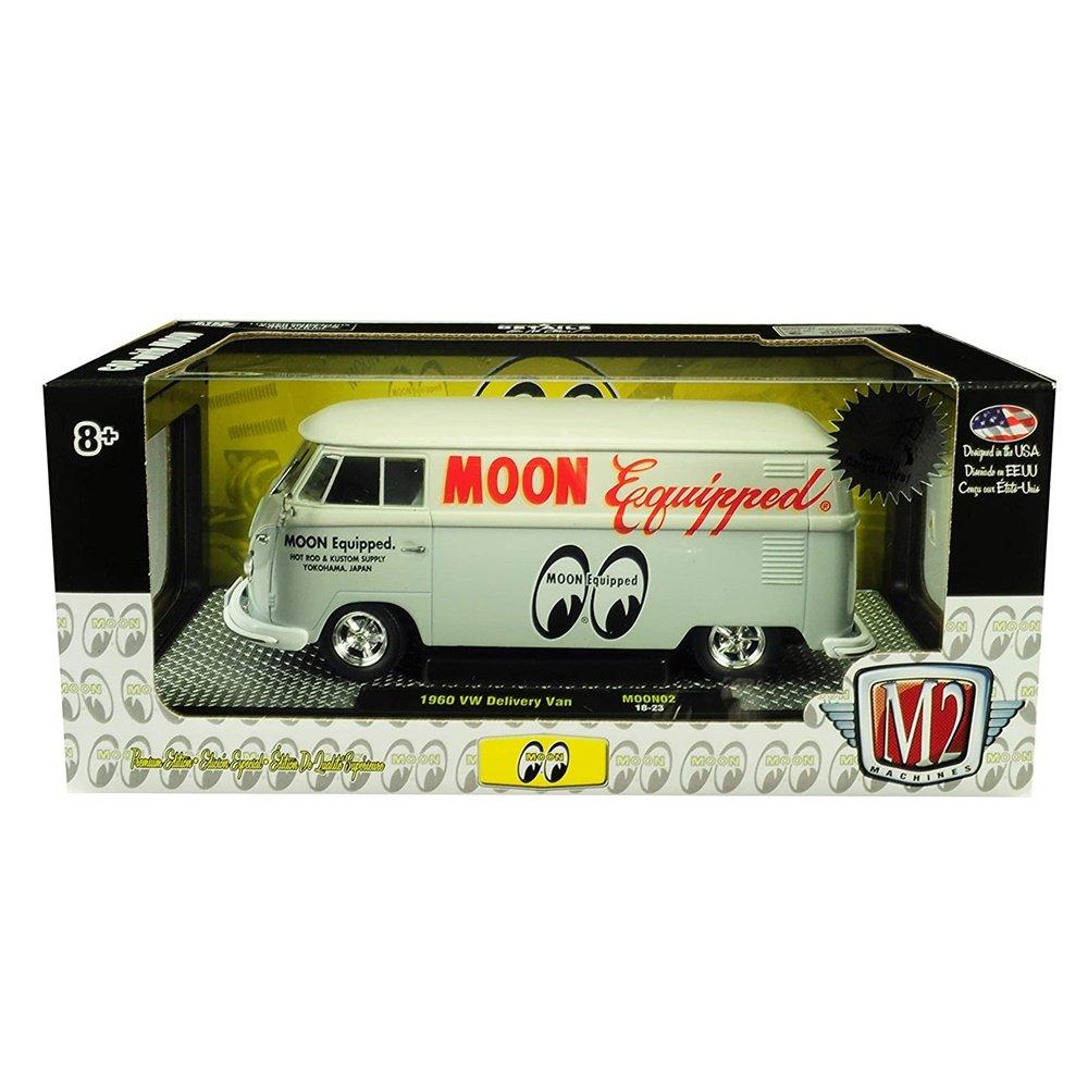 Miniatura Volkswagen Kombi 1960 Mooneyes 1/24 M2