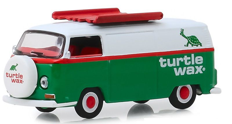 Miniatura Volkswagen Kombi 1972 Turtle Max Running on Empty 1/64 Greenlight