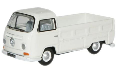Miniatura Volkswagen Kombi Pick Up White 1/76 Oxford
