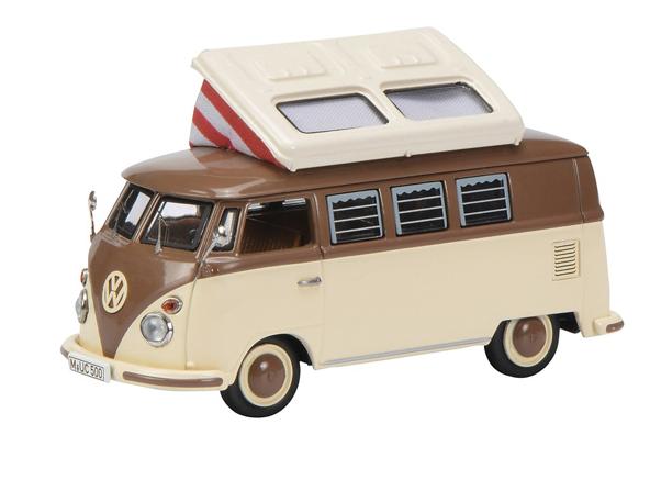 Miniatura Volkswagen Kombi T1 Campingbus 1/43 Schuco