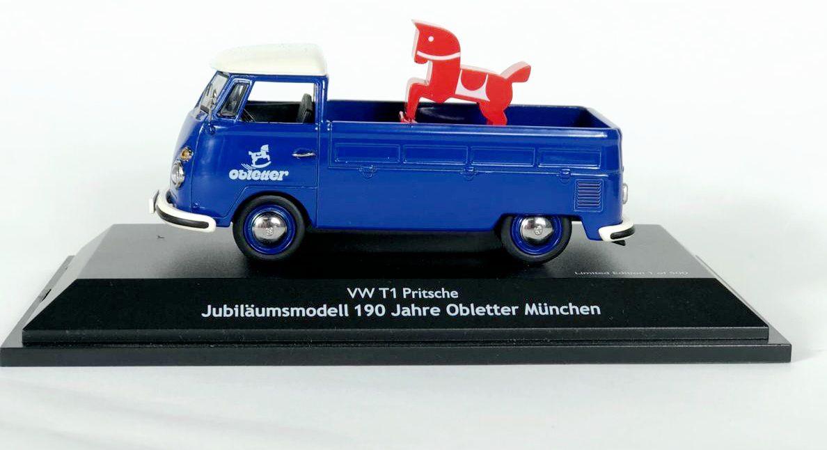 Miniatura Volkswagen Kombi T1 Obletter Munchen 1/43 Schuco