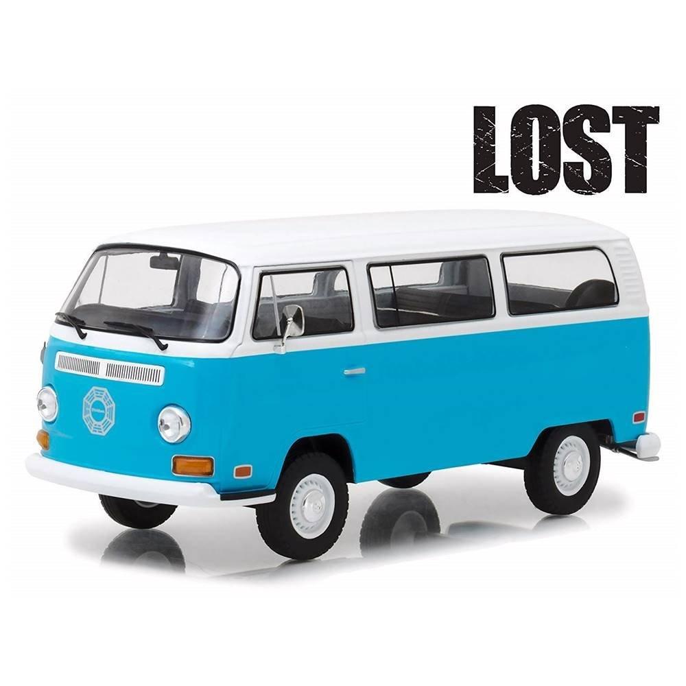 Miniatura Volkswagen Kombi Type 2 1971 Lost Dharma 1/24 Greenlight