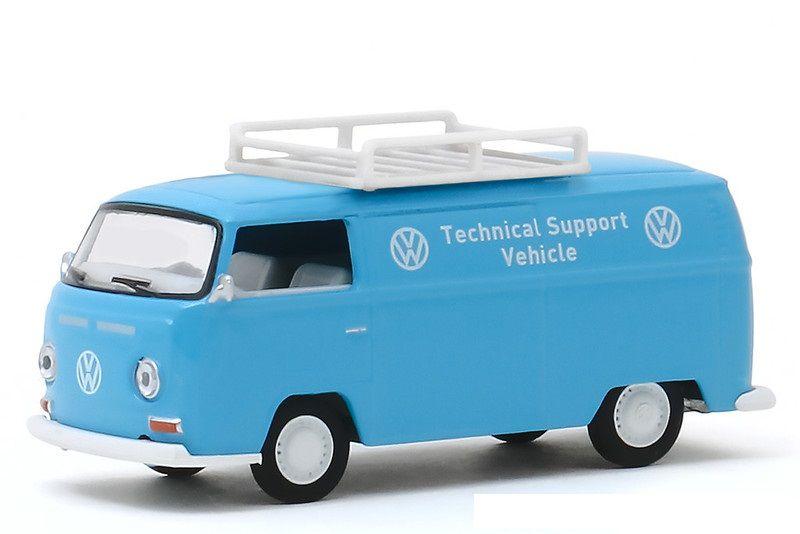 Miniatura Volkswagen Kombi Type 2 1971 V DUBS  1/64 Greenlight