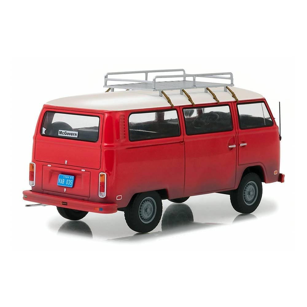 Miniatura Volkswagen Kombi Type 2 1973 Field of Dreams 1/24 Greenlight