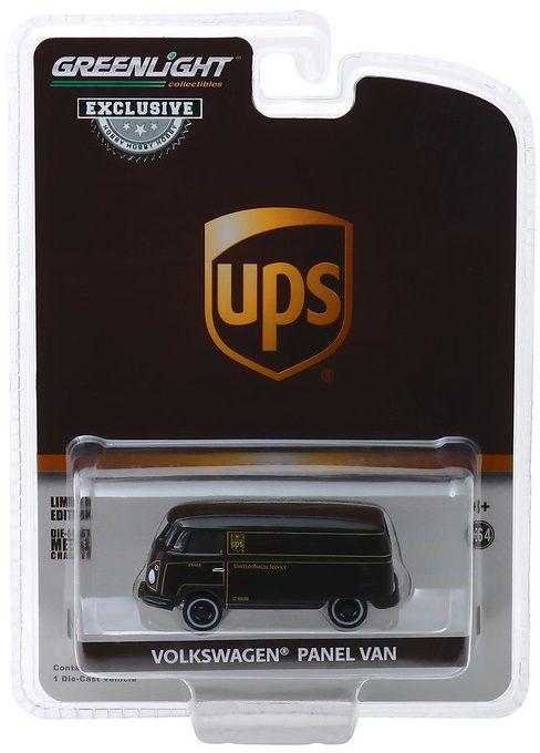Miniatura Volkswagen Kombi UPS  1/64 Greenlight