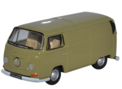 Miniatura Volkswagen Kombi Van Arizona Yellow 1/76 Oxford