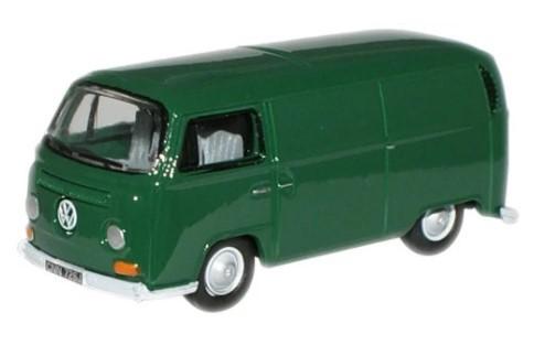 Miniatura Volkswagen Kombi Van Green 1/76 Oxford