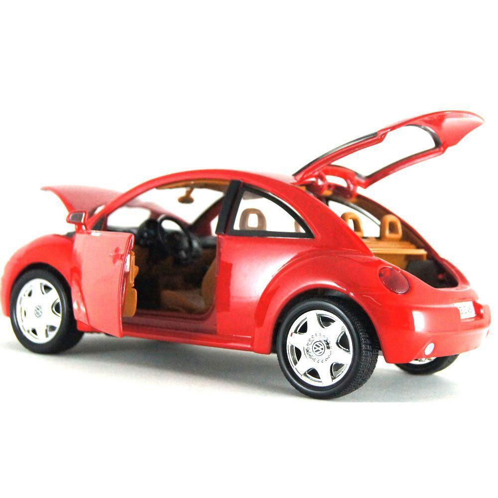 Miniatura Volkswagen New Beetle 1998 1/18 BBurago