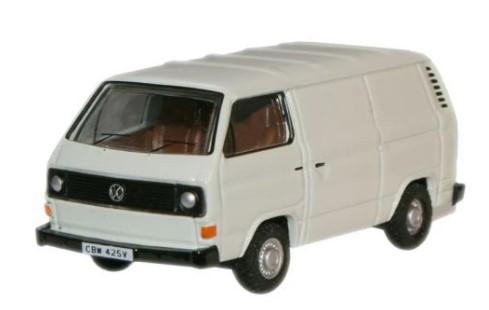 Miniatura Volkswagen T25 Van White 1/76 Oxford