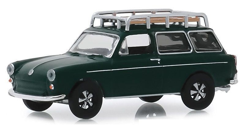 Miniatura Volkswagen Type 3 1969 Estate Wagon 1/64 Greenlight