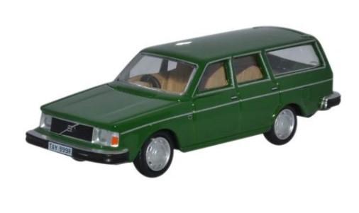 Miniatura Volvo 245 Estate Green 1/76 Oxford