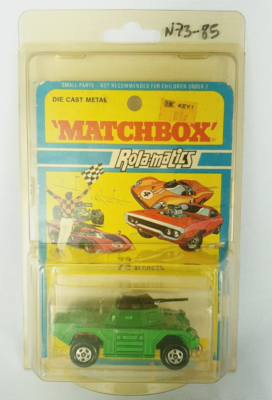 Miniatura Weasel Rolamatics N 73 1971 1/64 Matchbox