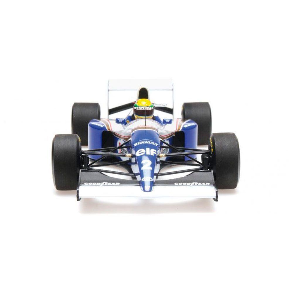Miniatura Williams Renault FW16 San marino 1994 Ayrton Senna 1/18 Minichamps