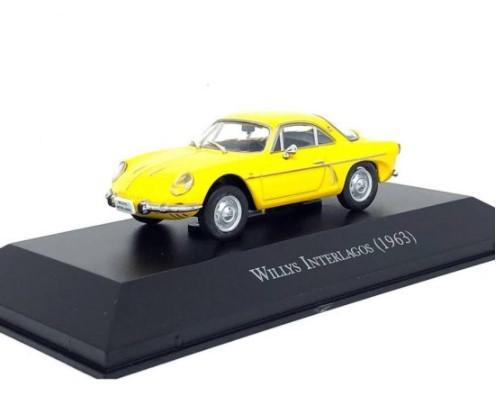 Miniatura Willys Interlagos 1963 1/43 Ixo