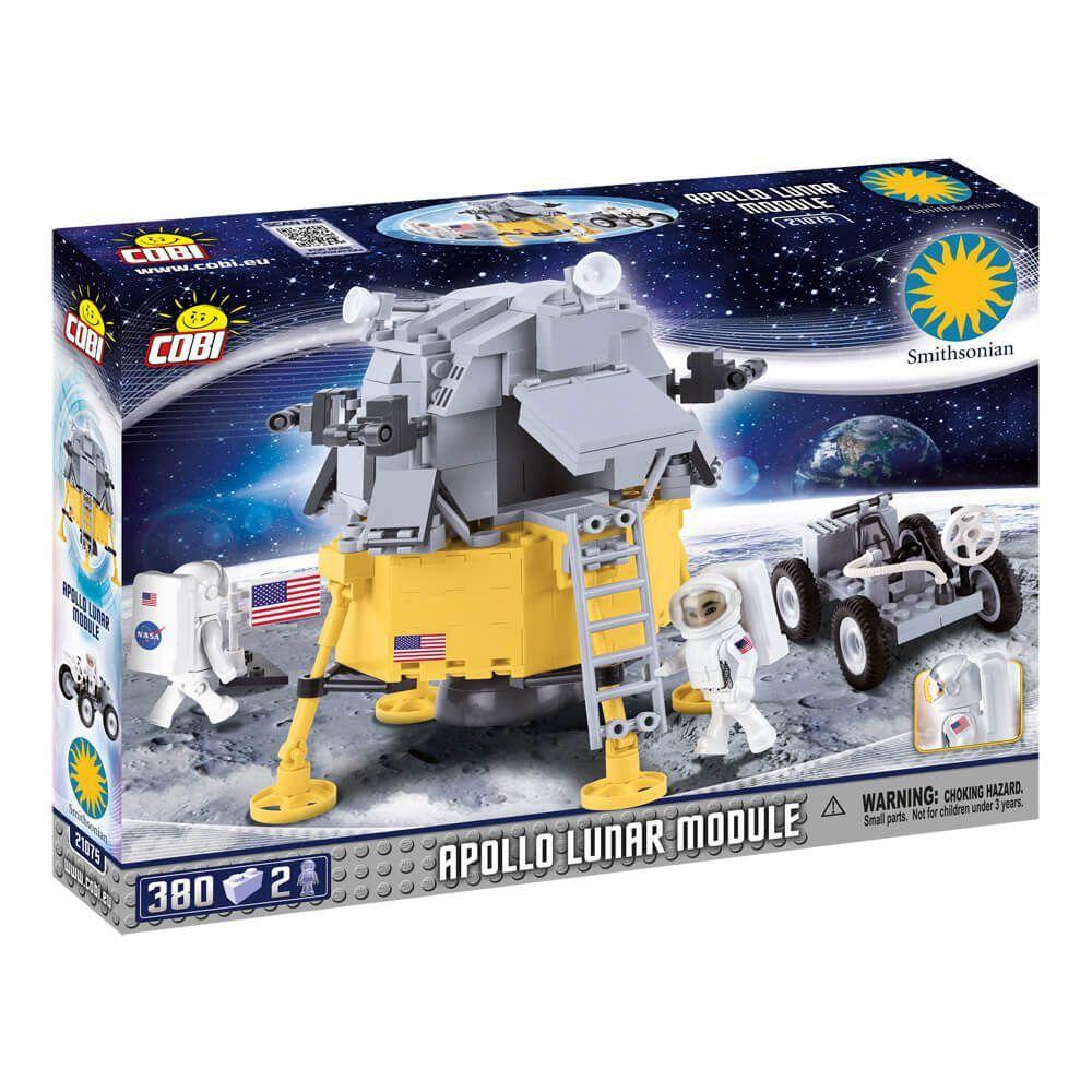 Modulo Lunar Apollo 11 Blocos de Montar 380 Peças Cobi