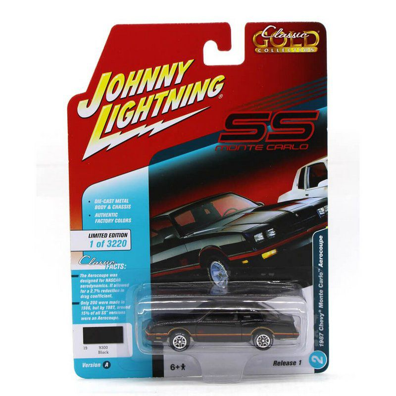 Miniatura Monte Carlo 1987 Classic Gold A 1/64 Johnny Lightning
