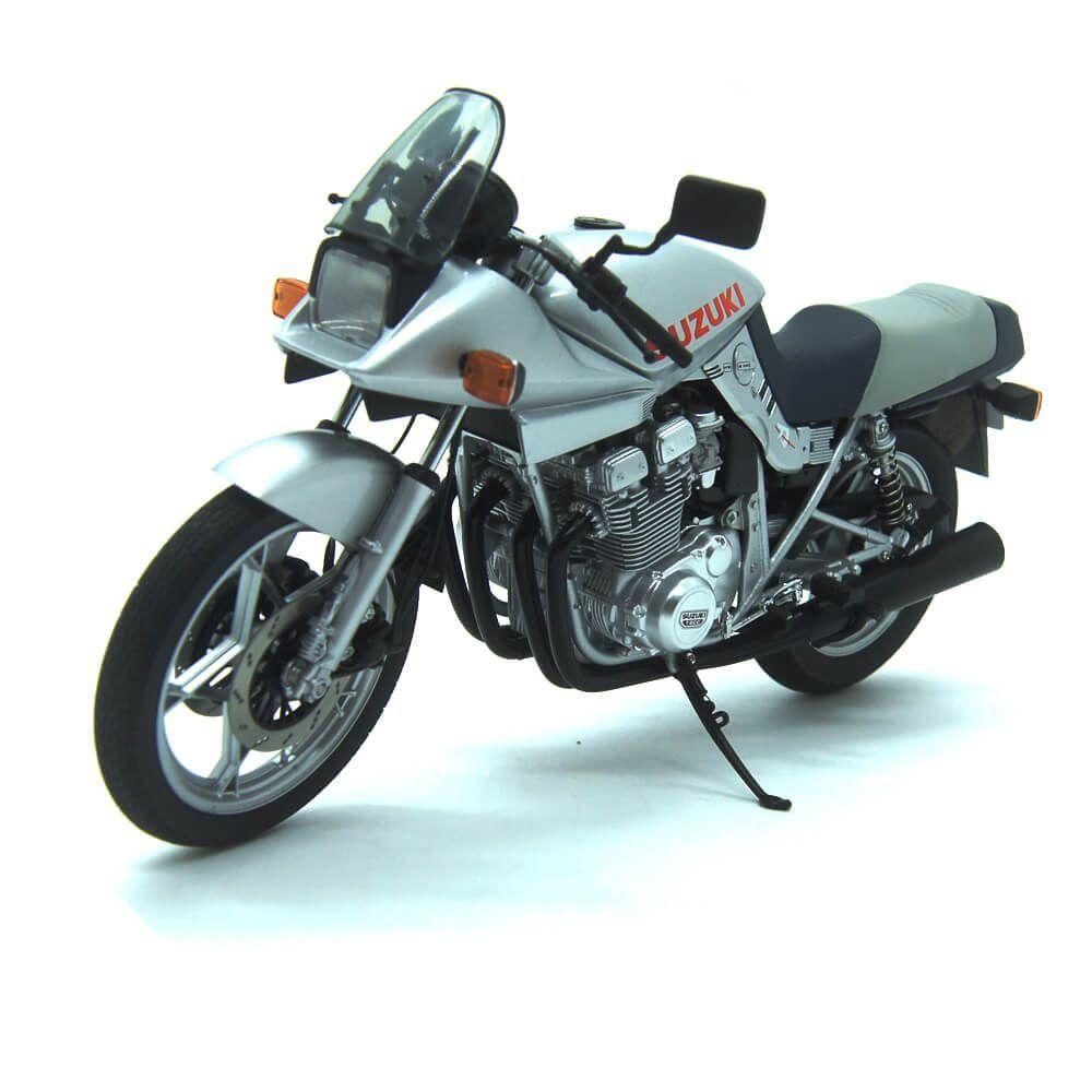 Miniatura Moto Suzuki GSX 1100S Katana Prata 1/12 Auto Art