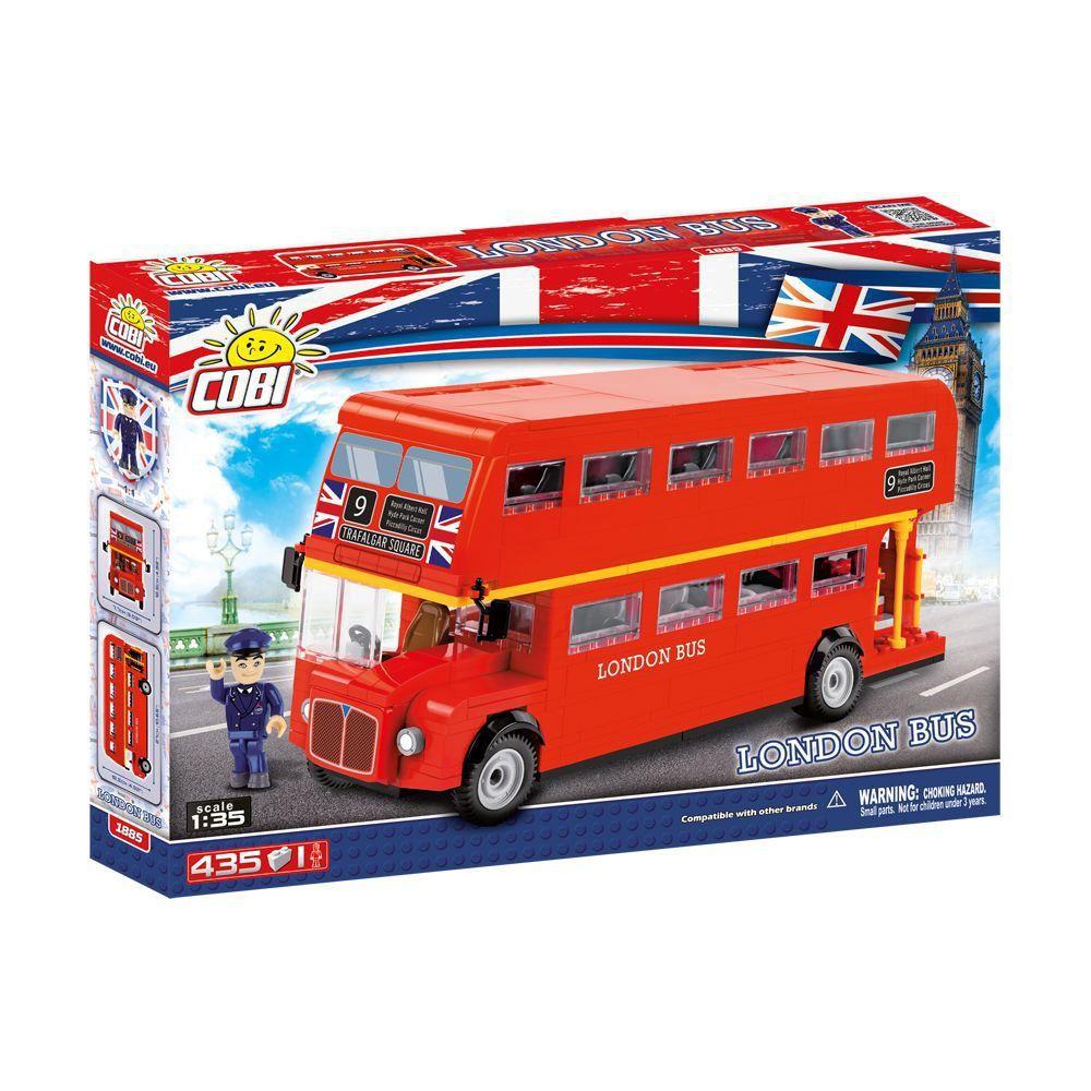 Ônibus de Londres Blocos de Montar 435 Peças Cobi