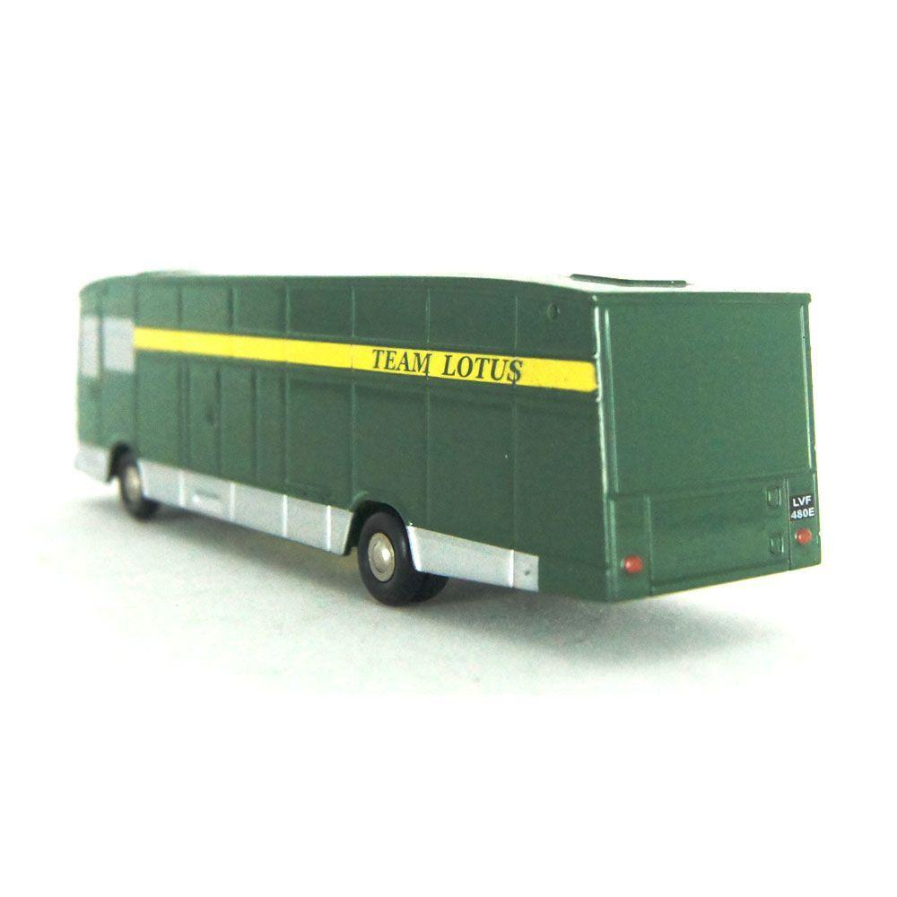 Miniatura Piccolo Lotus Team Transport 1/90 Schuco
