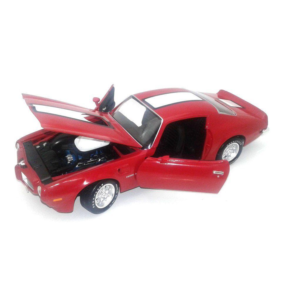 Miniatura Pontiac Firebird Trans Am 1972 1/18 Auto World