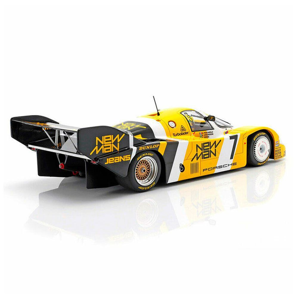 Miniatura Porsche 956K Joest Racing - Pescarolo/Johansson/Senna - 1000km Nürburgring 1984 1/18 Minichamps