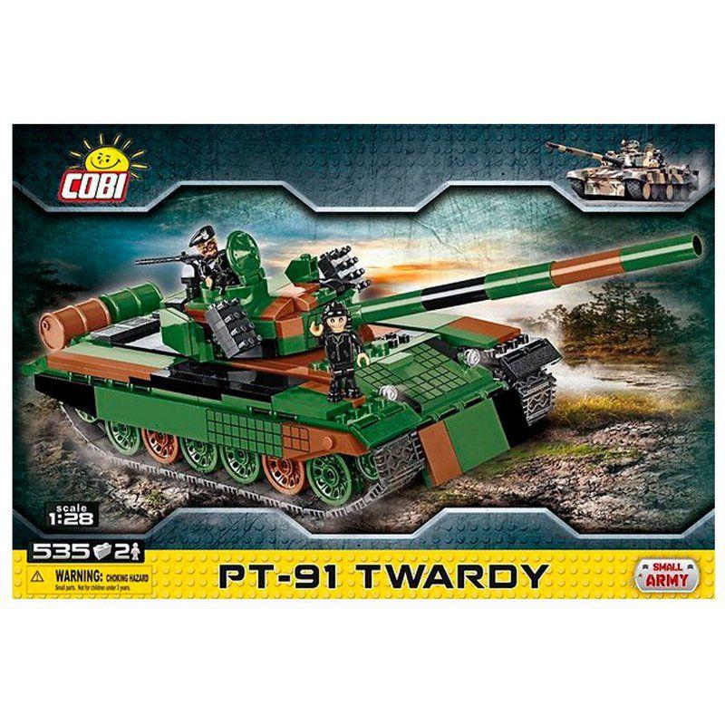 Tank Polonês PT-91 Blocos para montar com 535 Peças Cobi
