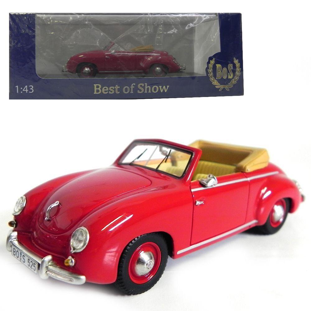 Miniatura Volkswagen Dannenhauer Und Stauss Cabriolet 1954 1/43 Bos