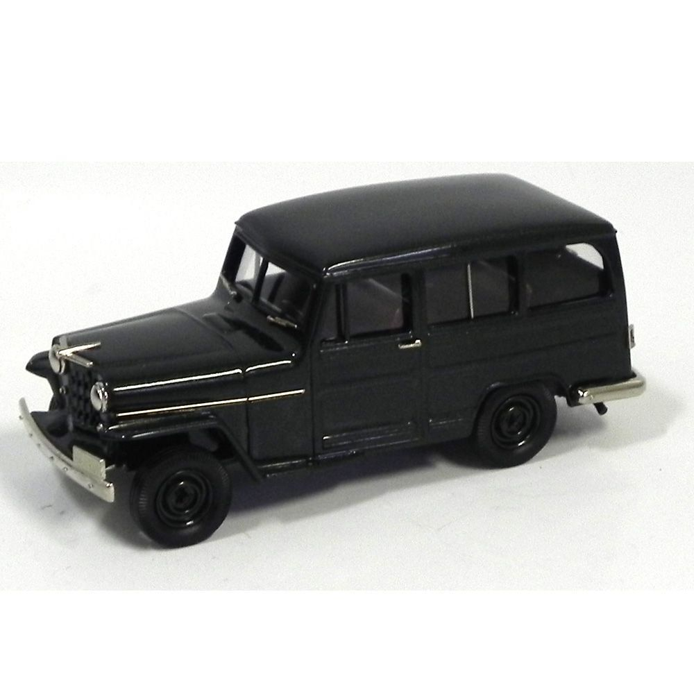 Miniatura Willys Overland Station Wagon 4WD 1953 1/43 Brooklin Models