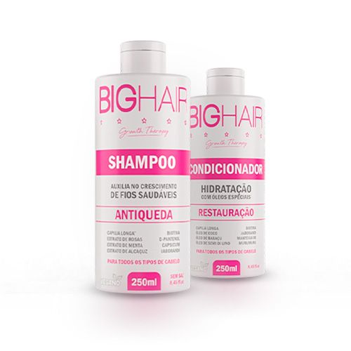 1 Shampoo Big Hair + 1 Condicionador Big Hair