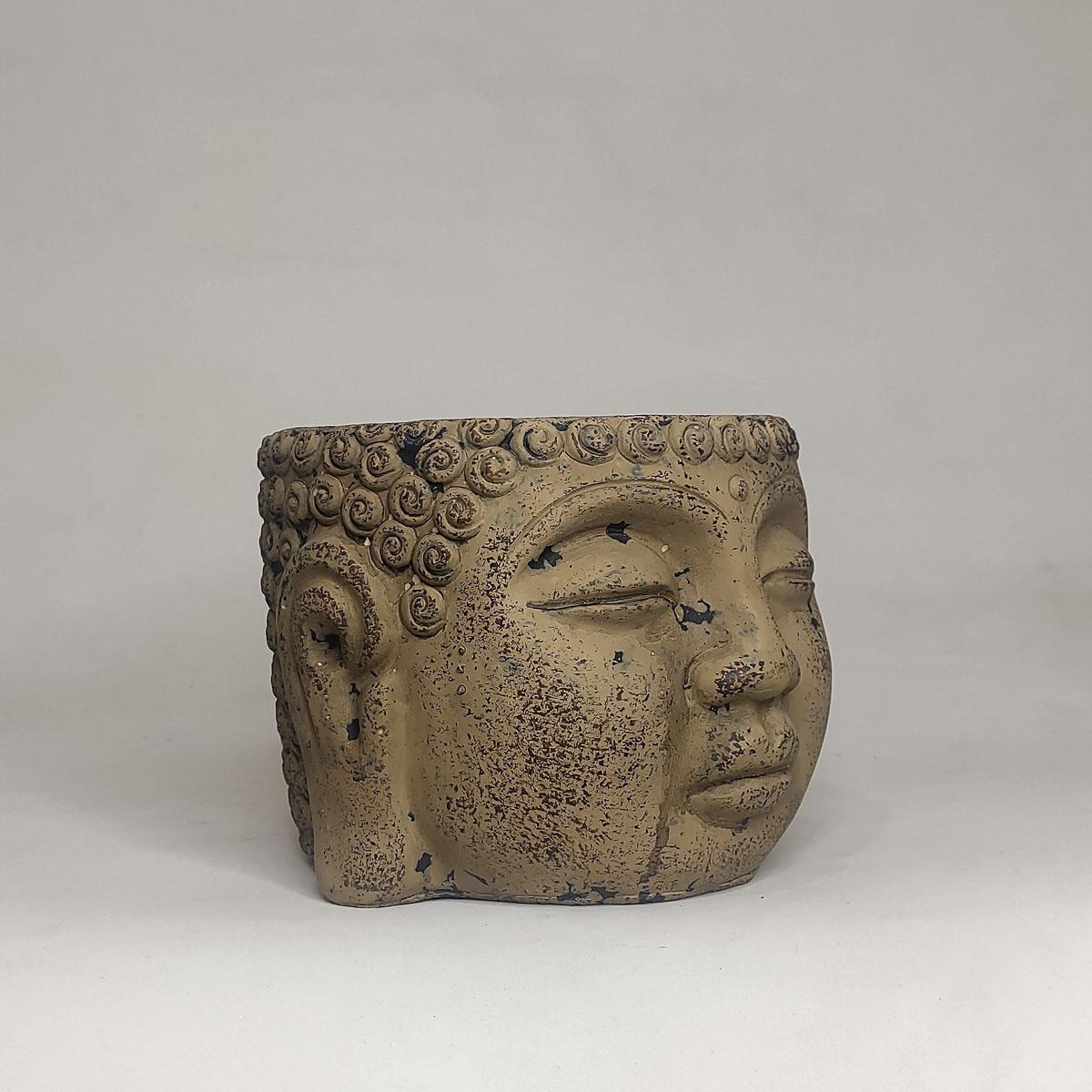 Cachepot Cerâmico Buda