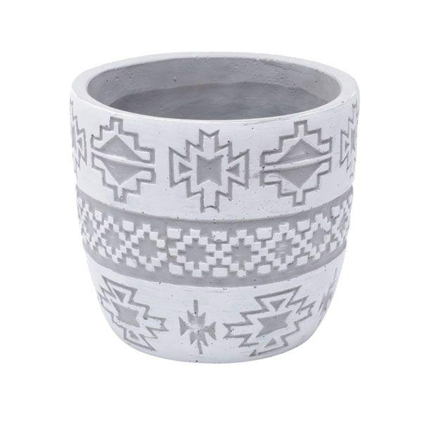 Cachepot de Cimento Native