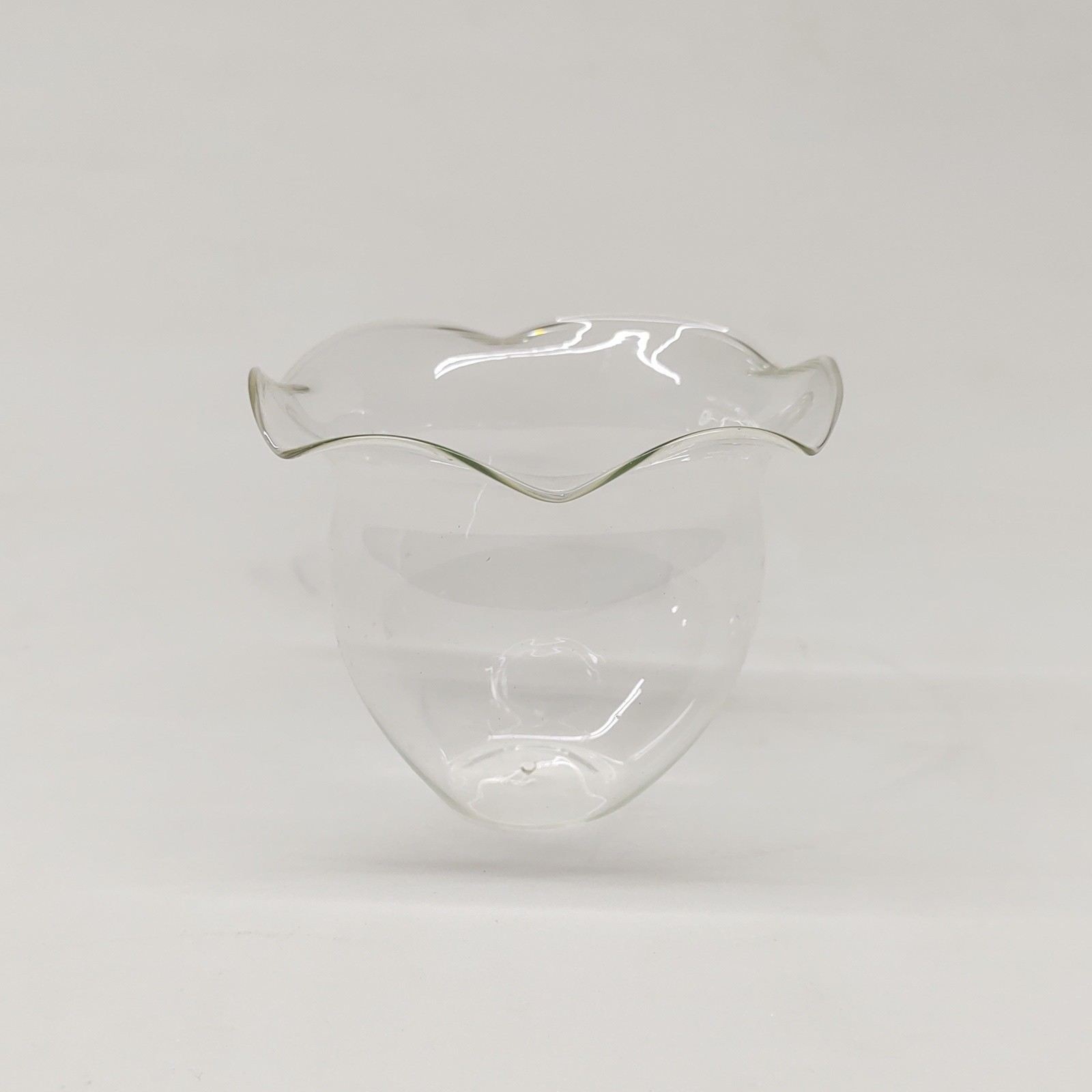 Castiçal de Vidro Copo Maça (cx 40 uni)
